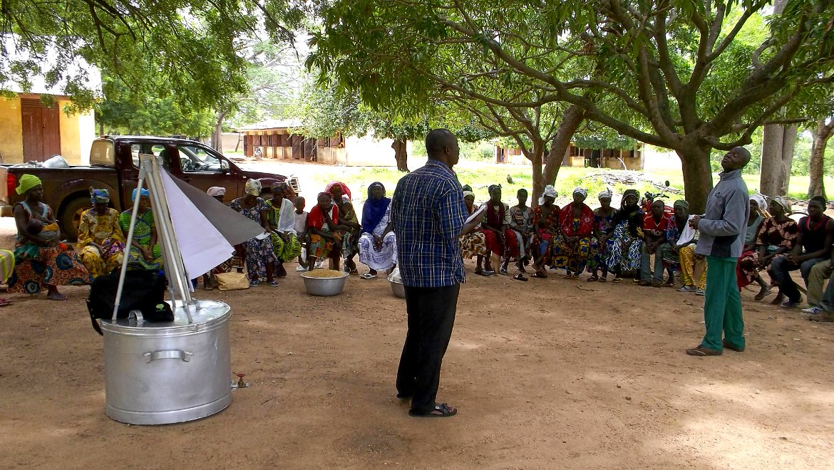 Community Outreach programme by the Food Research Institute of the CSIR Ghana